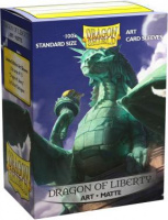 Фотография Протекторы Dragon Shield - Dragon of Liberty (100 шт.) [=city]