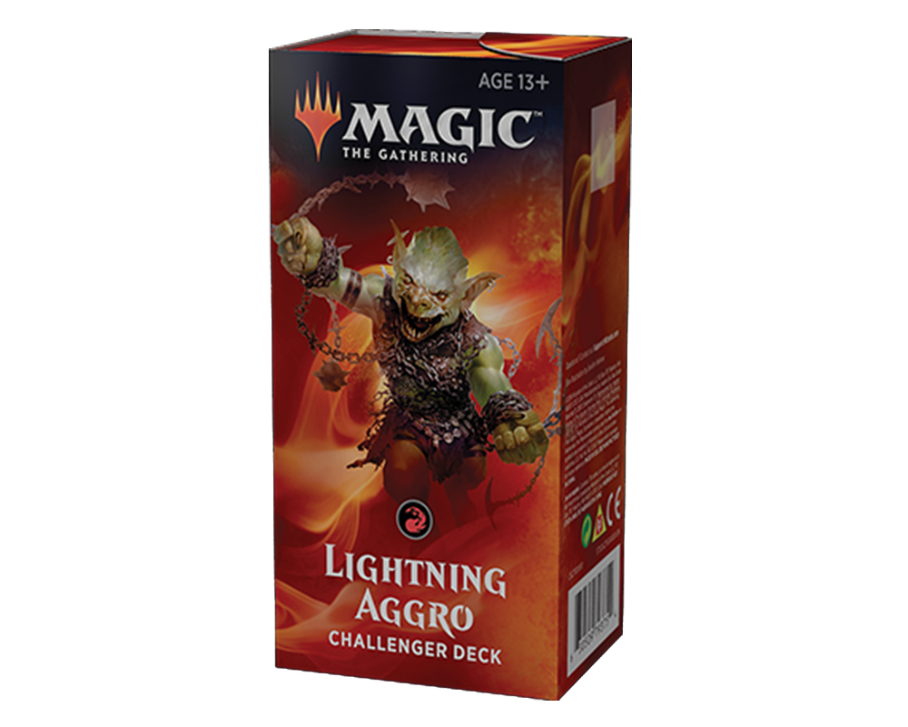 Фотография Challenger Deck 2019. Lightning Aggro [=city]